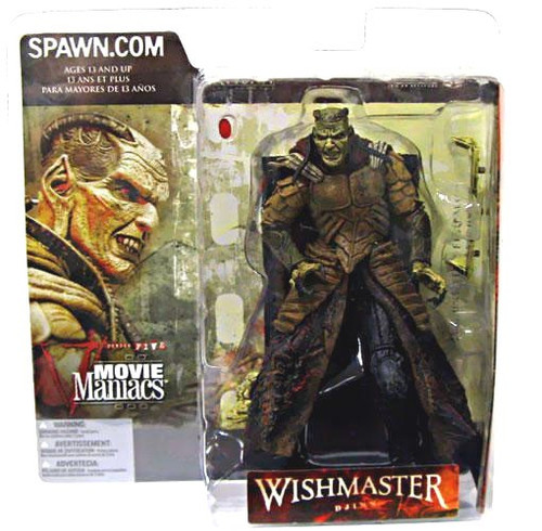McFarlane Toys Movie Maniacs Series 5 Wishmaster Djinn Action Figure [Version 2]