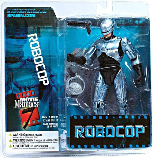 McFarlane Toys Movie Maniacs Series 7 Robocop Action Figure