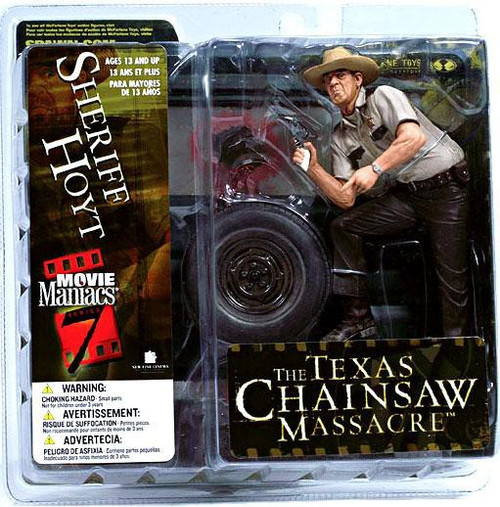 McFarlane Toys The Texas Chainsaw Massacre Movie Maniacs Series 7 Sheriff Hoyt Action Figure