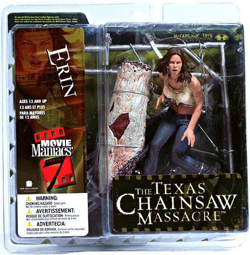 McFarlane Toys The Texas Chainsaw Massacre Movie Maniacs Series 7 Erin Action Figure