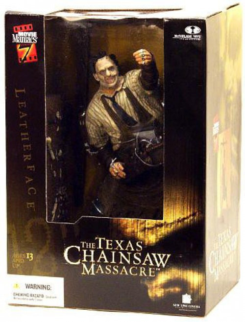 McFarlane Toys The Texas Chainsaw Massacre Movie Maniacs Series 7 Leatherface Deluxe Action Figure