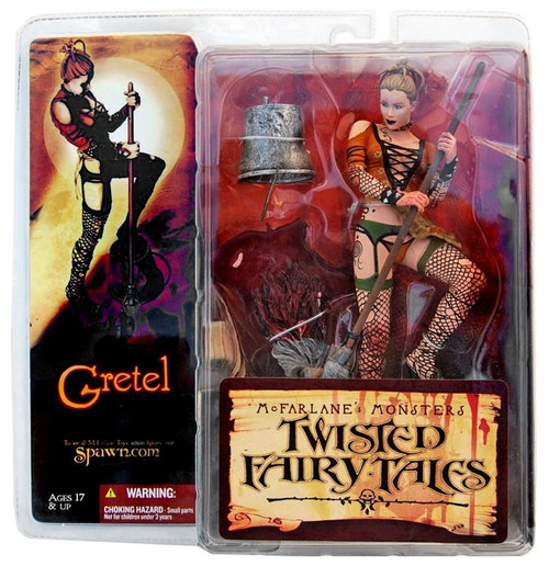 McFarlane Toys McFarlane's Monsters Twisted Fairy Tales Gretel Action Figure