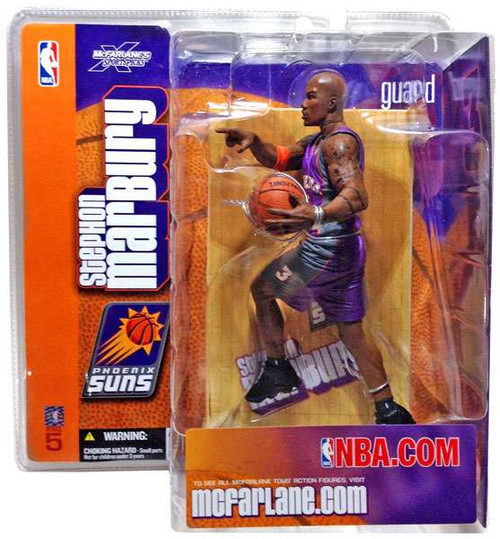 McFarlane Toys NBA Phoneix Suns Sports Picks Series 5 Stephon Marbury Action Figure [Purple Jersey Variant]
