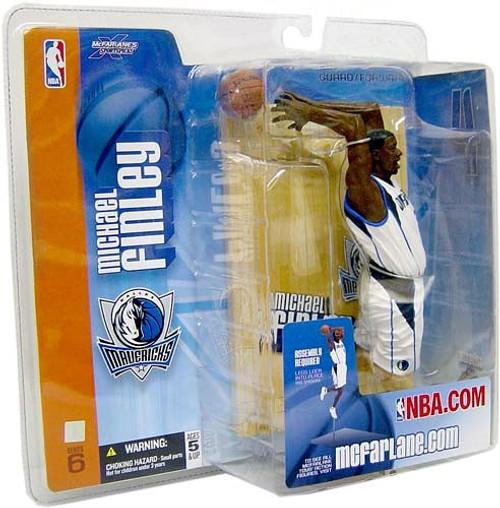 McFarlane Toys NBA Dallas Mavericks Sports Picks Series 6 Michael Finley Action Figure [White Jersey]