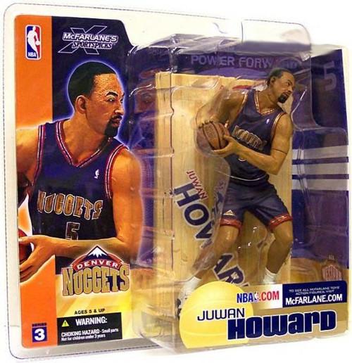 McFarlane Toys NBA Denver Nuggets Sports Picks Series 3 Juwan Howard Action Figure [Blue Jersey]