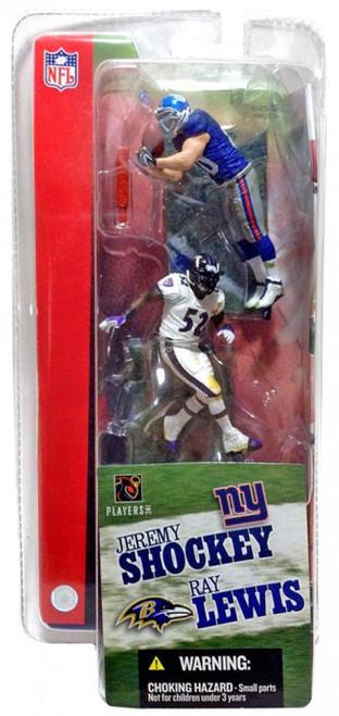 McFarlane Toys NFL New York Giants / Baltimore Ravens Sports Picks 3 Inch Mini Series 1 Jeremy Shockey & Ray Lewis Mini Figure 2-Pack 2-Pack