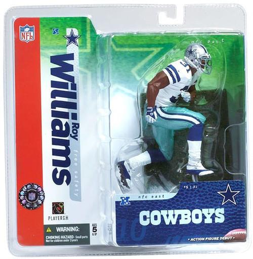 McFarlane Toys NFL Dallas Cowboys Sports Picks Series 10 Roy Williams Action Figure [White Jersey]