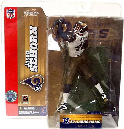 McFarlane Toys NFL Saint Louis Rams Sports Picks Series 7 Jason Sehorn Action Figure