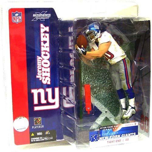 McFarlane Toys NFL New York Giants Sports Picks Series 7 Jeremy Shockey Action Figure [White Jersey Variant]