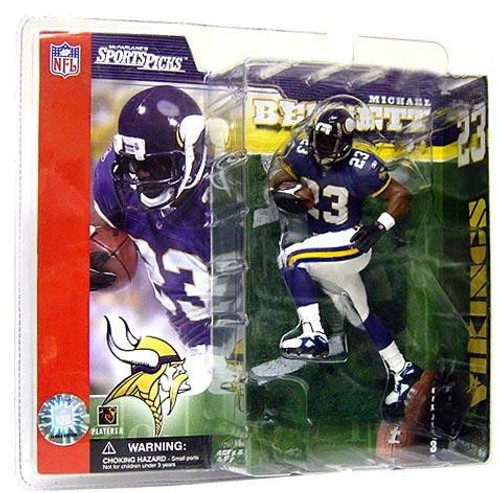 McFarlane Toys NFL Minnesota Vikings Sports Picks Series 3 Michael Bennett Action Figure