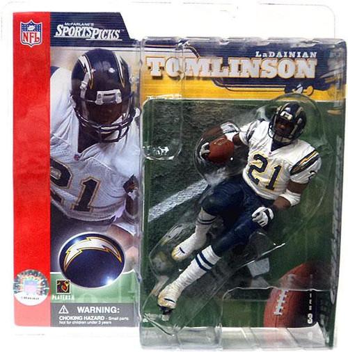 McFarlane Toys NFL San Diego Chargers Sports Picks Series 3 LaDainian Tomlinson Action Figure