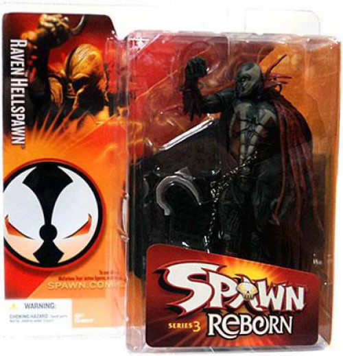 McFarlane Toys Spawn Reborn Series 3 Raven Hellspawn Action Figure