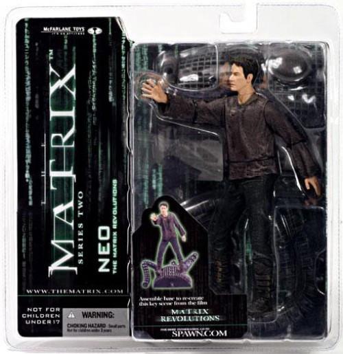 McFarlane Toys The Matrix Matrix Revolutions Series 2 Neo Action Figure [Real World]
