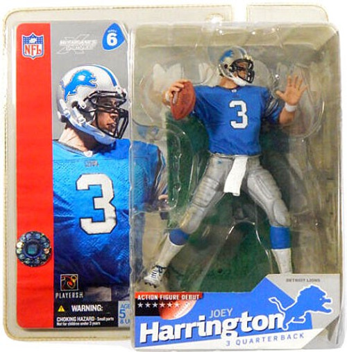 McFarlane Toys NFL Detroit Lions Sports Picks Series 6 Joey Harrington Action Figure [Blue Jersey]