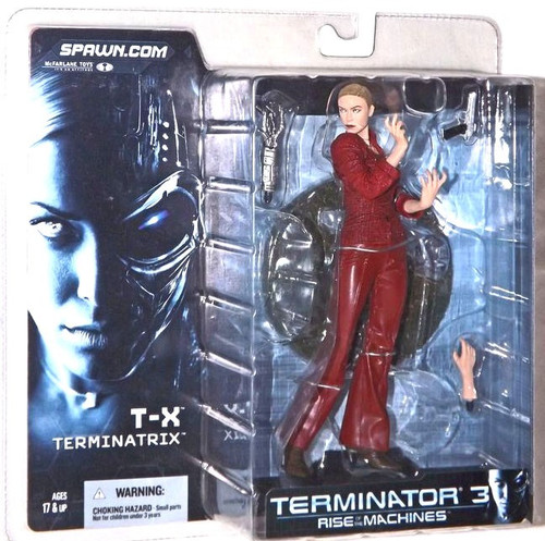 McFarlane Toys Terminator Rise of the Machines T-X Terminatrix Action Figure