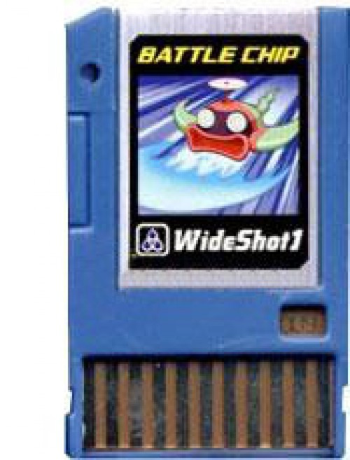 Mega Man WideShot 1 Battle Chip #009