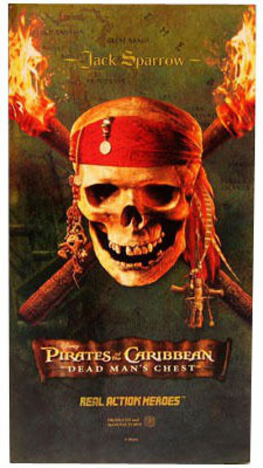 Pirates of the Caribbean Dead Man's Chest Jack Sparrow Deluxe Action Figure