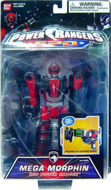 Power Rangers SPD Mega Morphin Red Power Ranger Action Figure