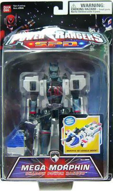 Power Rangers SPD Mega Morphin Shadow Power Ranger Action Figure