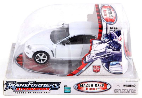 Transformers Alternators Meister Mazda RX-8 Action Figure