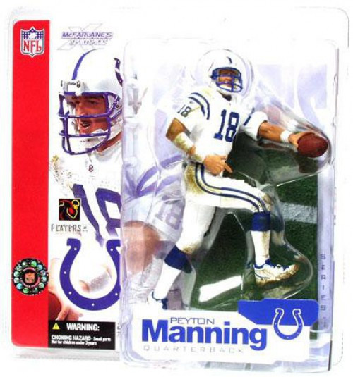 McFarlane Toys NFL Indianapolis Colts Sports Picks Series 4 Peyton Manning Action Figure [White Jersey]