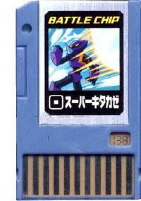 Capcom Mega Man Japanese PET Super Northwind Battle Chip #138