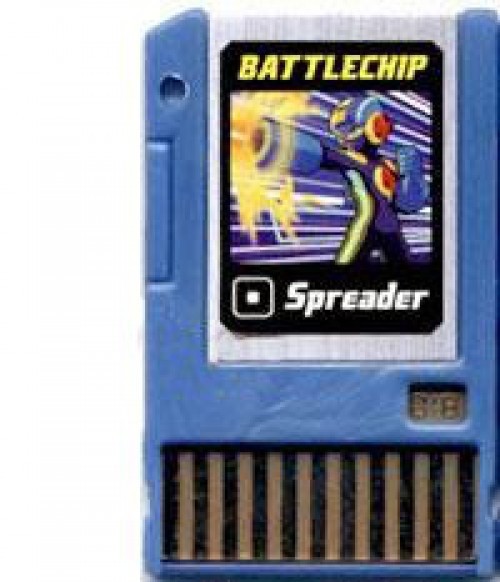 Mega Man Spreader Battle Chip #018