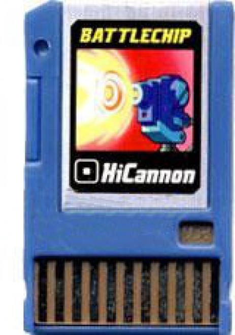 Mega Man HiCannon Battle Chip #002