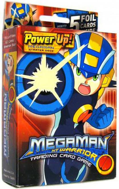 MegaMan NT Warrior Trading Card Game Power Up! Mega Man Starter Deck