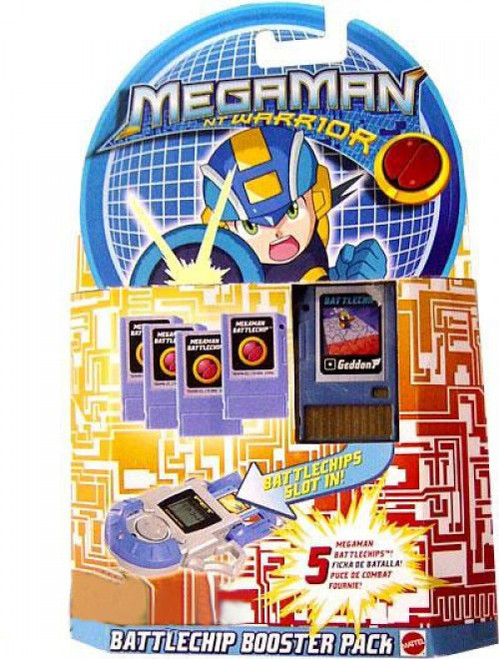 Mega Man NT Warrior PET Battle Chip Booster Pack