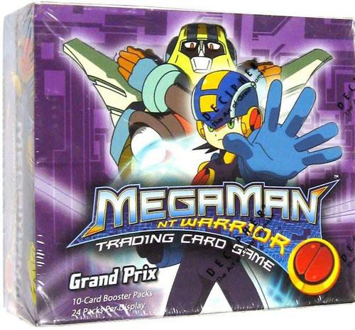 MegaMan NT Warrior Trading Card Game Grand Prix Booster Box [24 Packs]