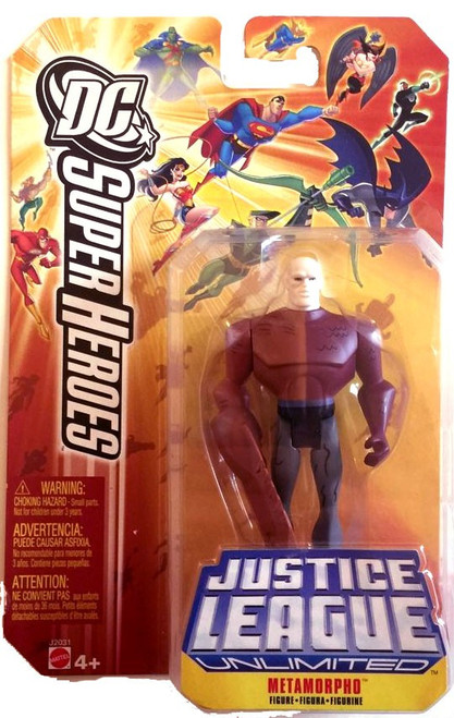 DC Justice League Unlimited Super Heroes Metamorpho Action Figure