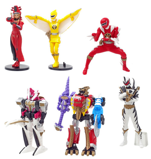 Power Rangers Dino Thunder Micro PVC Series 2 Micro Series 2 PVC Figures
