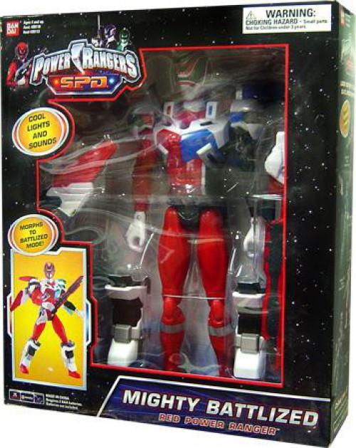 Power Rangers SPD Mighty Battlized Red Power Ranger Deluxe Action Figure
