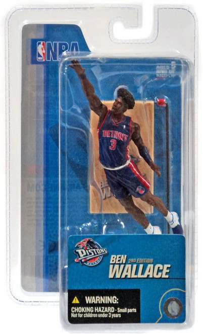 McFarlane Toys NBA Detroit Pistons Sports Picks 3 Inch Mini Series 3 Ben Wallace Mini Figure