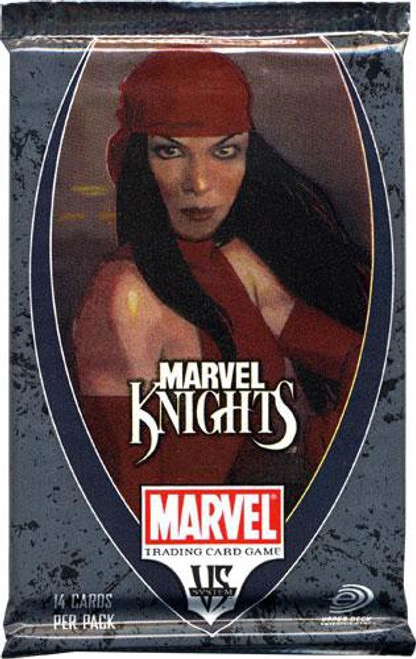 VS System Trading Card Game Marvel Knights Booster Pack