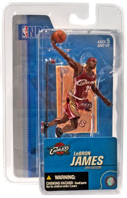 McFarlane Toys NBA Cleveland Cavaliers Sports Picks 3 Inch Mini Series 3 LeBron James Mini Figure