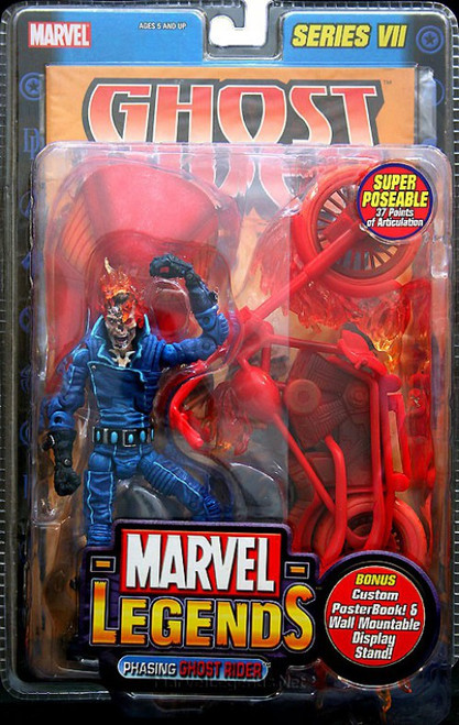 Marvel Legends Series 7 Ghost Rider Action Figure [Phasing Variant]