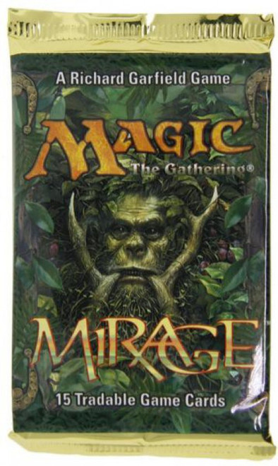 MtG Trading Card Game Mirage Booster Pack [15 Cards]