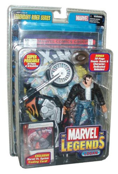 Marvel Legends Series 11 Legendary Riders Logan Action Figure [Black Jacket Variant]
