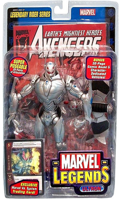 Marvel Legends Series 11 Legendary Riders Ultron Action Figure