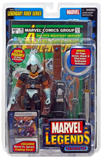 Marvel Legends Series 11 Legendary Riders Taskmaster Action Figure