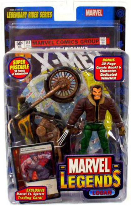 Marvel Legends Series 11 Legendary Riders Logan Action Figure