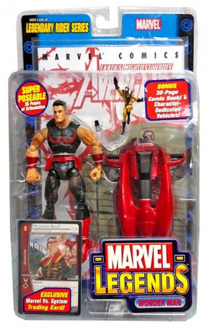 Marvel Legends Series 11 Legendary Riders Wonder Man Action Figure