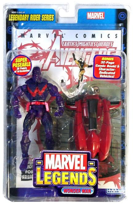 Marvel Legends Series 11 Legendary Riders Wonder Man Action Figure [Ionic Variant]