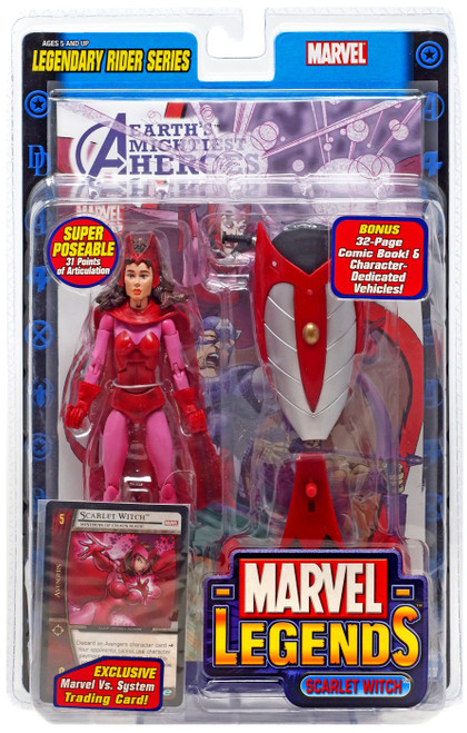 Marvel Legends Series 11 Legendary Riders Scarlet Witch Action Figure