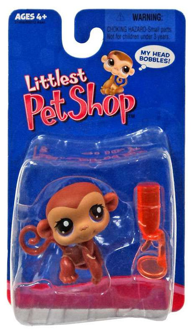 Littlest Pet Shop Monkey Exclusive Figure [Brown]