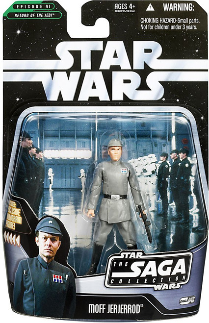 Star Wars Return of the Jedi 2006 Saga Collection Moff Jerjerrod Action Figure #40