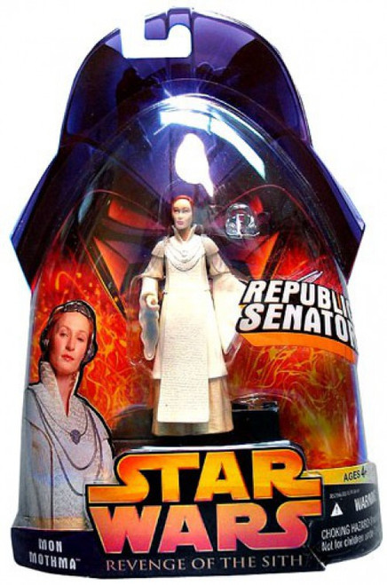 Star Wars Revenge of the Sith 2005 Mon Mothma Action Figure #24