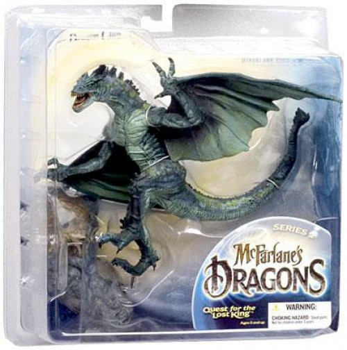 McFarlane Toys Dragons Quest for the Lost King Series 2 Berserker Clan Dragon 2 Action Figure